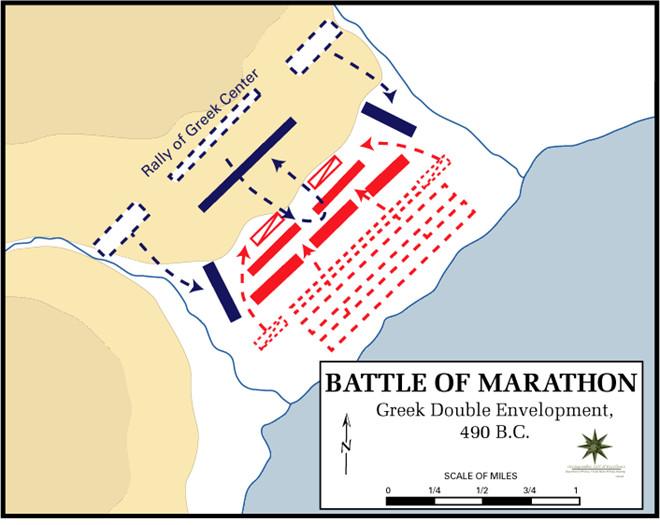 Bản đồ trận Marathon