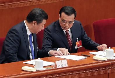 Chủ tịch Trung Quốc Tập Cận Bình và Thủ tướng Trung Quốc Lý Khắc Cường (Ảnh: Lintao Zhang/Getty Images)