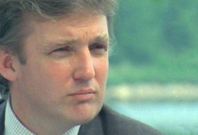 Ông Trump thời trẻ. Ảnh từ Pinterest