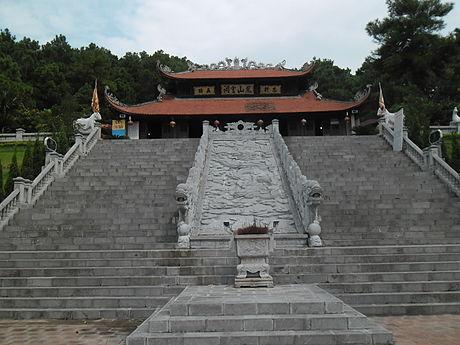 Đền thờ Chu Văn An tại vùng núi nơi ông ẩn cư ở Hải Dương. (Ảnh qua dulichchilinh.com)