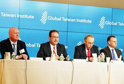 Giới tinh hoa chính trị Hoa Kỳ đã tham dự hoạt động của Global Taiwan Institute tại Washington DC. (Ảnh: Epoch Times)