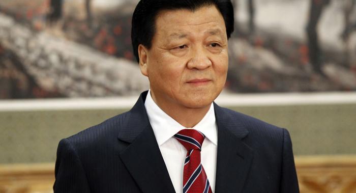 Lưu Vân Sơn là một trong những Thường ủy Bộ Chính trị xếp hàng thứ 5, phụ trách hệ thống tuyên truyền hình thái ý thức Đảng Cộng sản Trung Quốc. (Ảnh: Sputniknews)