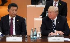 Chủ tịch Trung Quốc Tập Cận Bình và Tổng thống Mỹ Donald Trump. ( Ảnh qua clarin.com)