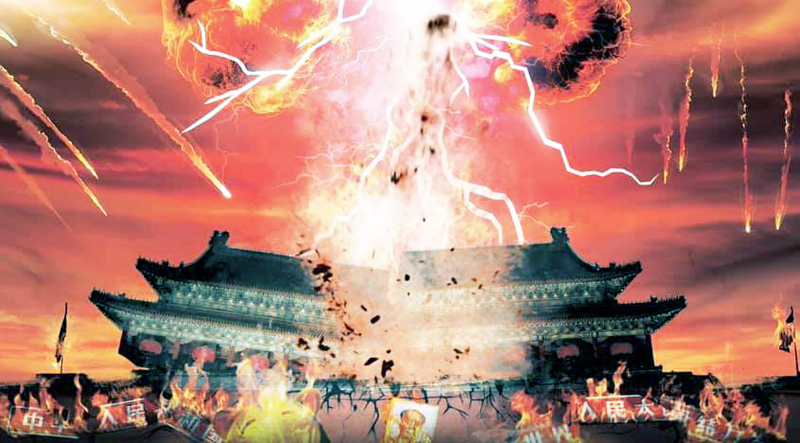 """Trung Quốc xuất hiện """"Tuyên ngôn độc lập Hồ Nam"""", kêu gọi các tỉnh khởi nghĩa lật đổ chính quyền. (Ảnh: Reddit)"""