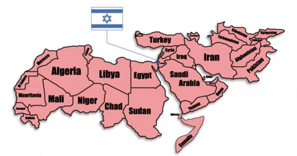 Bản đồ trung đông