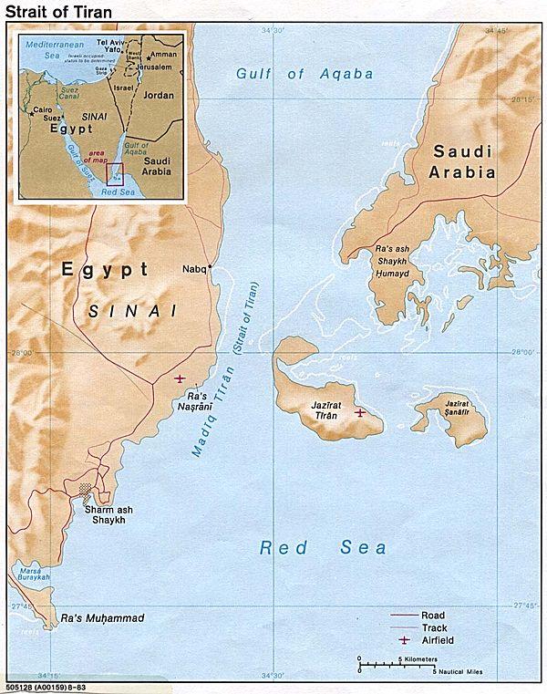 Eo biển Tiran