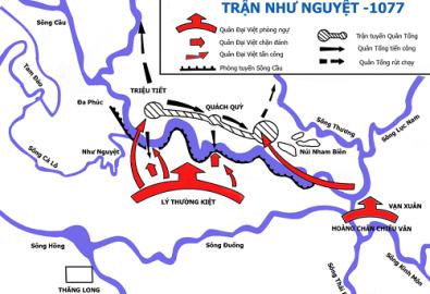 Bản đồ Như Nguyệt. (Ảnh: Lưu Ly/Wikipedia, CC BY 3.0)