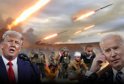 """Dưới thời Tổng thống Donald Trump, Trung Đông yên bình và giờ ngược lại nơi này đã trở nên hỗn loạn dưới thời Joe Biden. Liệu Israel có phải là lực lượng """"áp bức"""" nhắm vào thường dân Palestine """"vô tội"""" và sát hại trẻ em như các tờ báo cánh tả vẫn thường gieo vào đầu công chúng? (Ảnh tổng hợp)"""