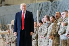 Tổng thống Trump thăm binh sỹ Mỹ tại Afghanistan ngày 28/11/2019. (Ảnh: White House)